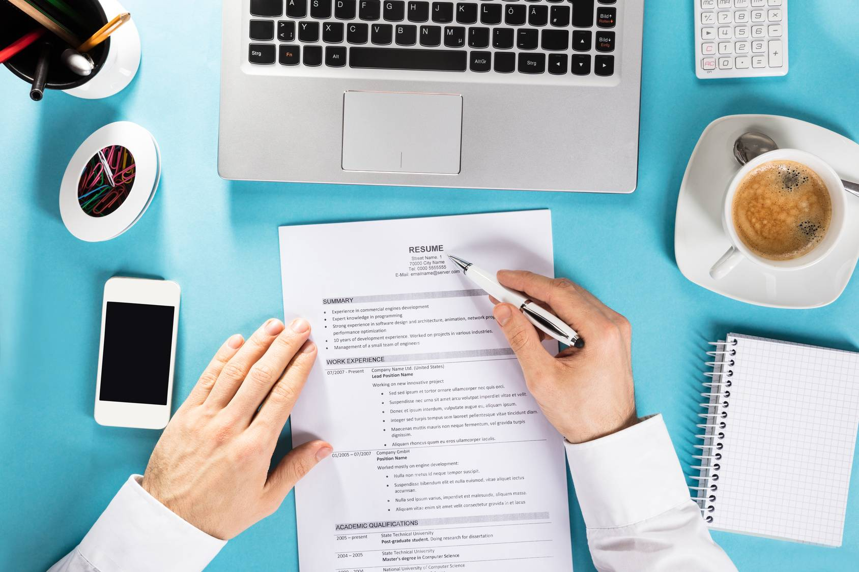 Jak napisać CV